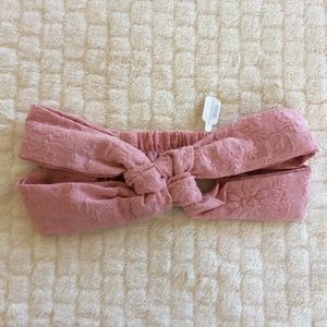 Anthropologie Graham Twist Headband - Color Rose